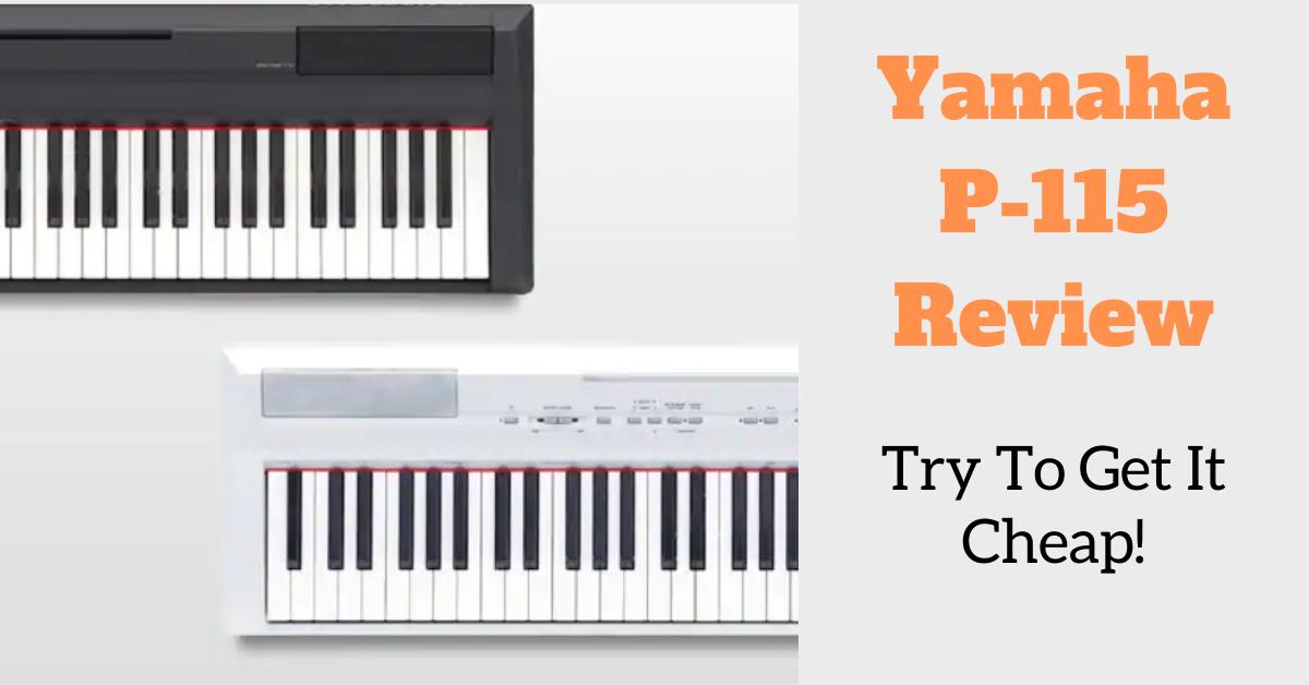 yamaha p115 digital piano review