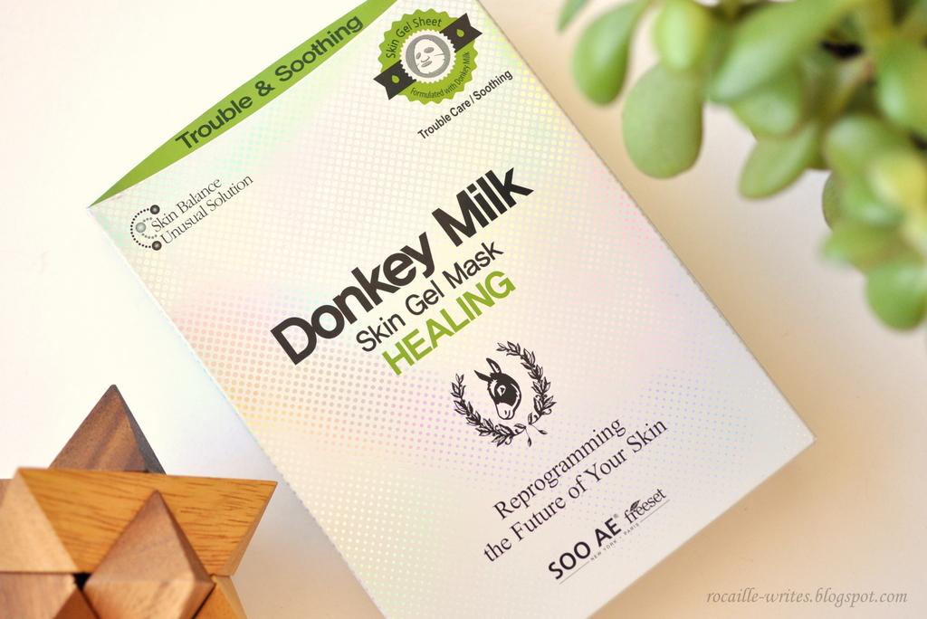 donkey milk healing mask review