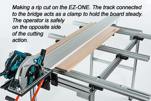 ez smart track saw system review