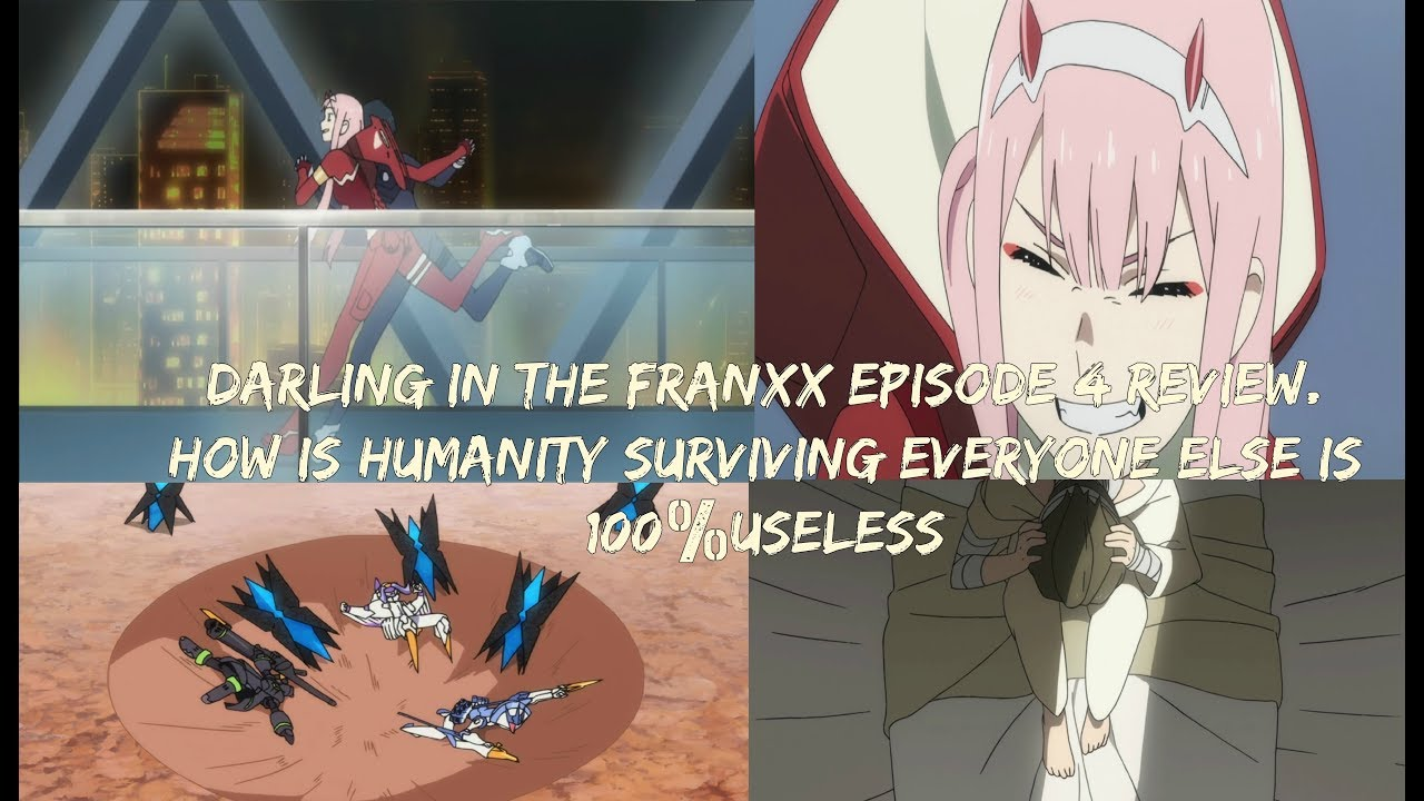 darling in the franxx review