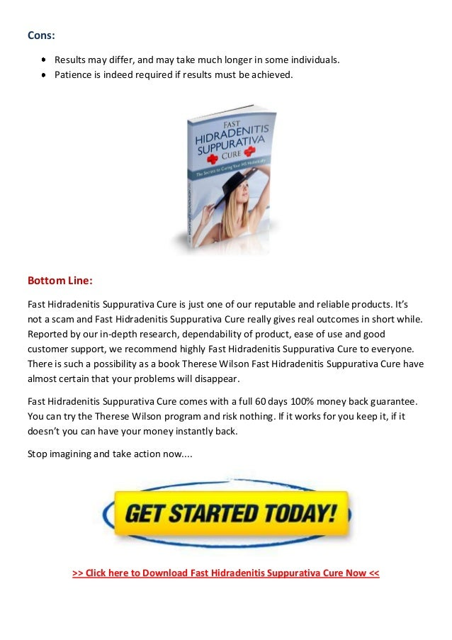 fast hidradenitis suppurativa cure book reviews