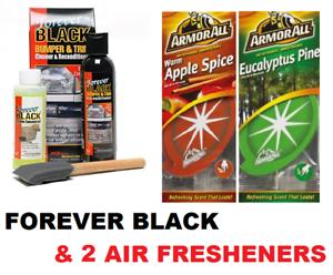 forever black bumper & trim dye kit review