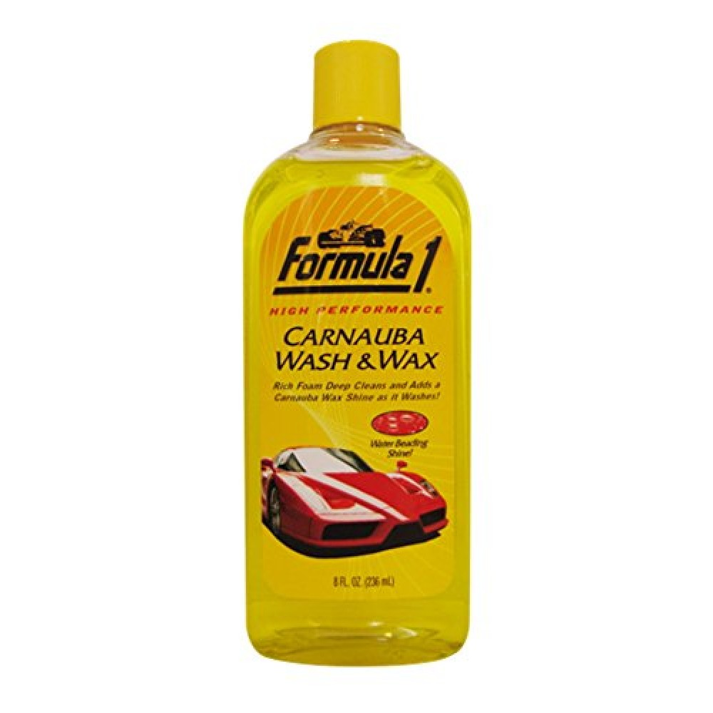 formula 1 wash and wax reviews