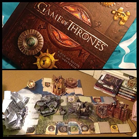 game of thrones pop up book review