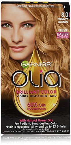 garnier olia blonde 8.0 review