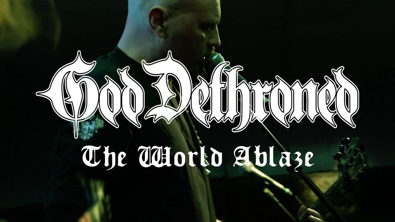 god dethroned the world ablaze review