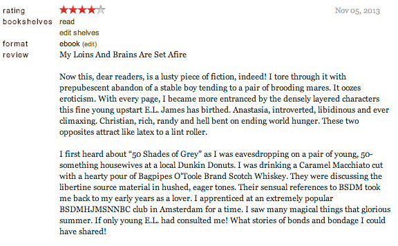 goodreads review 50 shades of grey