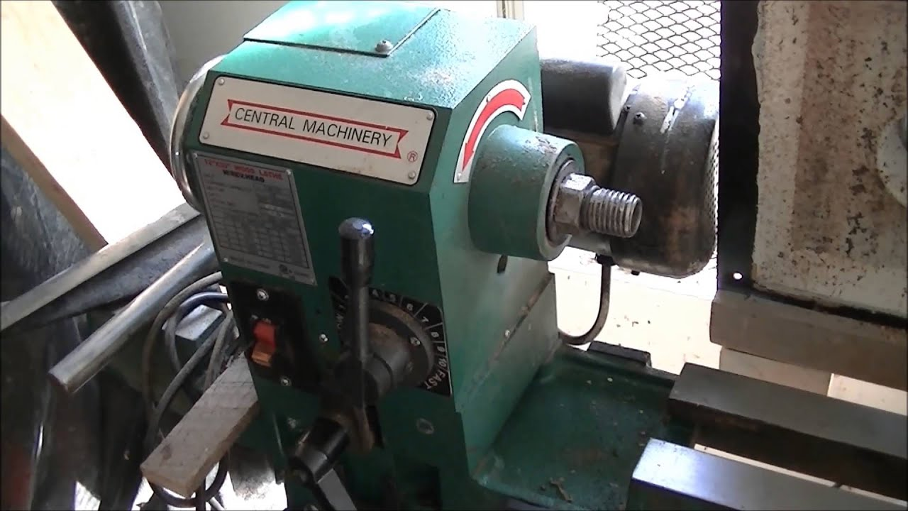 harbor freight mini lathe review
