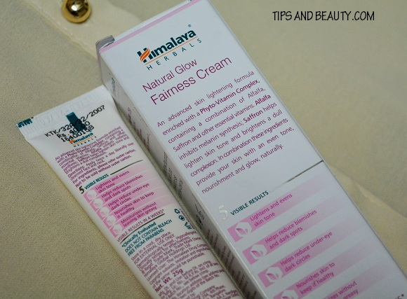 himalaya natural glow fairness cream review