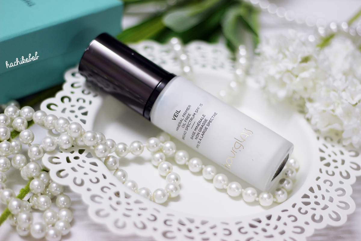 hourglass veil mineral primer broad spectrum spf 15 review