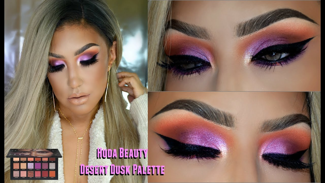 huda beauty desert dusk review
