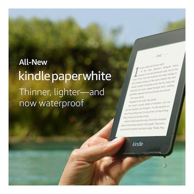 kindle paperwhite ereader black review