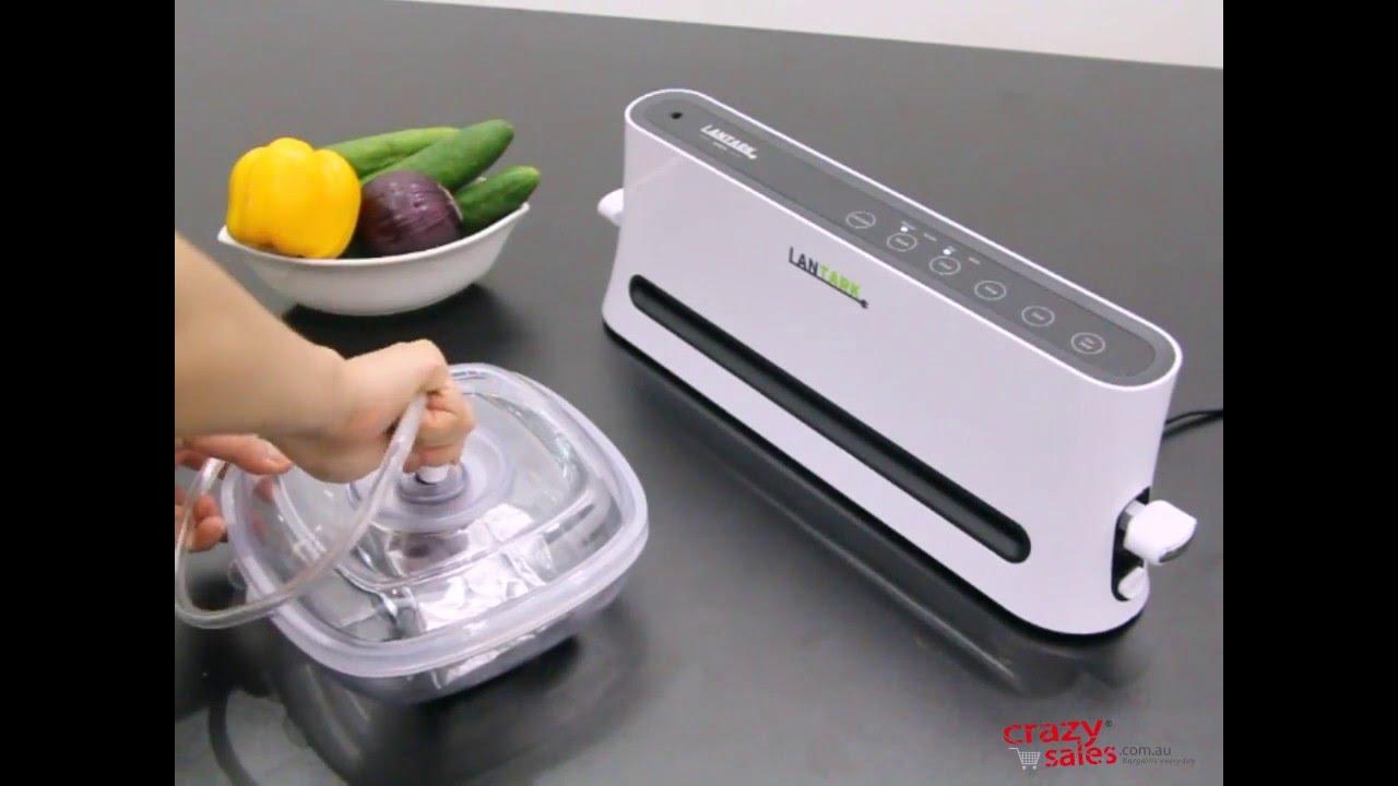 luvelo vacuum food sealer review