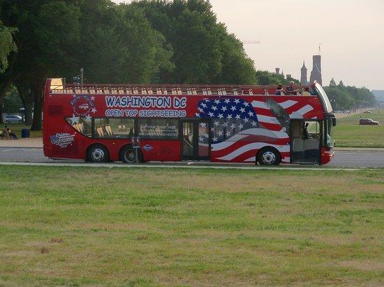 washington dc bus tours reviews